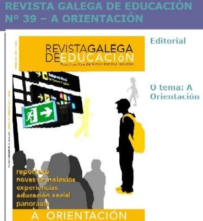 MONOGRÁFICO  SOBRE  ORIENTACIÓN DA  REVISTA GALEGA DE EDUCACIÓN