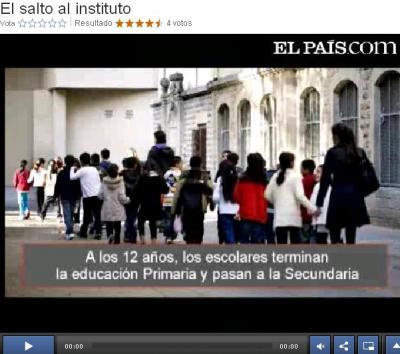 DA EDUCACION PRIMARIA PARA O INSTITUTO