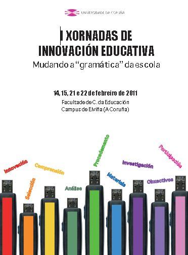I XORNADAS DE INNOVACIÓN EDUCATIVA