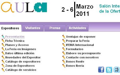Salón Internacional do Estudante e a Oferta Educativa.